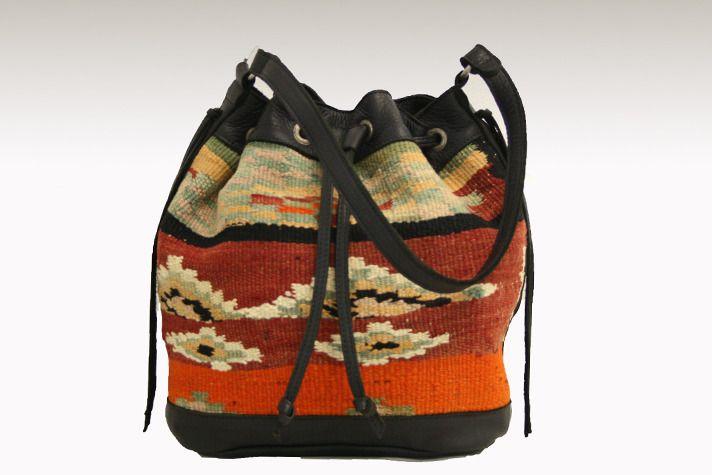 The Kilim Drawstring Bag