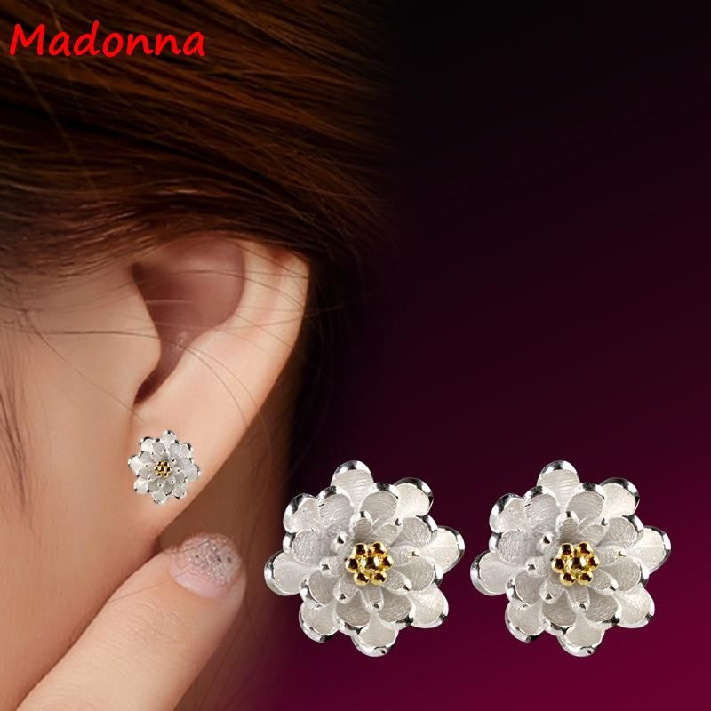 2017 High Quality Cz Gold color Earrings For Women Jewelry ...