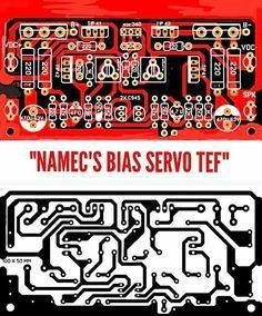 PCB Layout Design Namec Bias Servo TEF | Electronics stuff ...