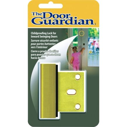 Door Guardian Security Latch Dg01 B Specialty Safety Items Ace Hardware