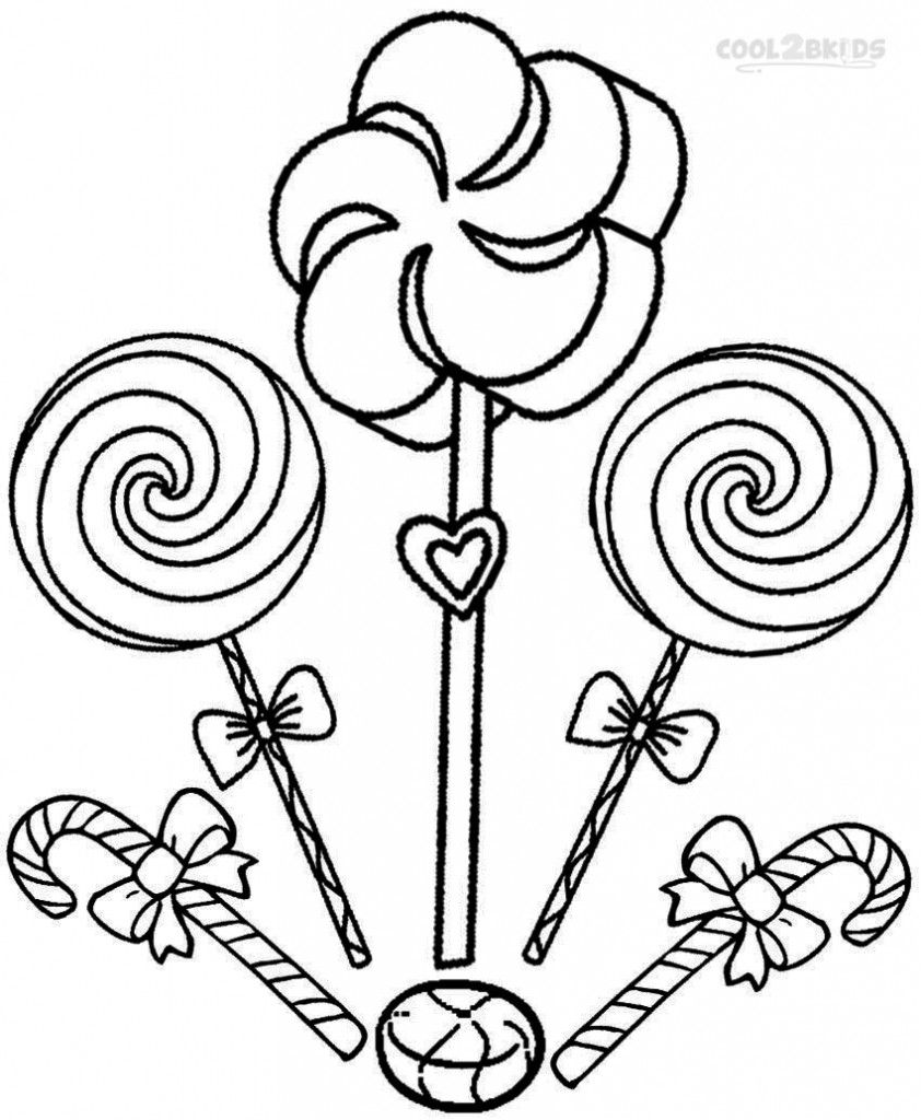 Candyland Coloring Pages Candy Cane Coloring Page Coloring