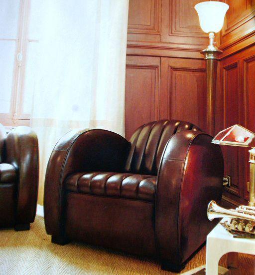 Meubles industriel et meuble vintage eames fauteuil club for Fauteuil eames cuir