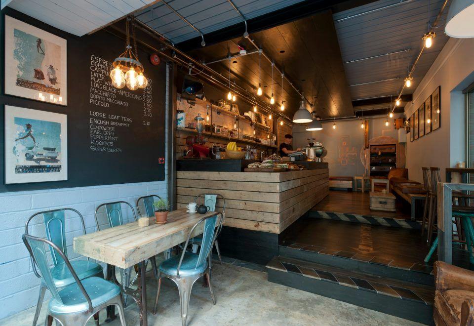 Urban Style Cafe Decor Cafe Interior Design Coffee Shop Bar