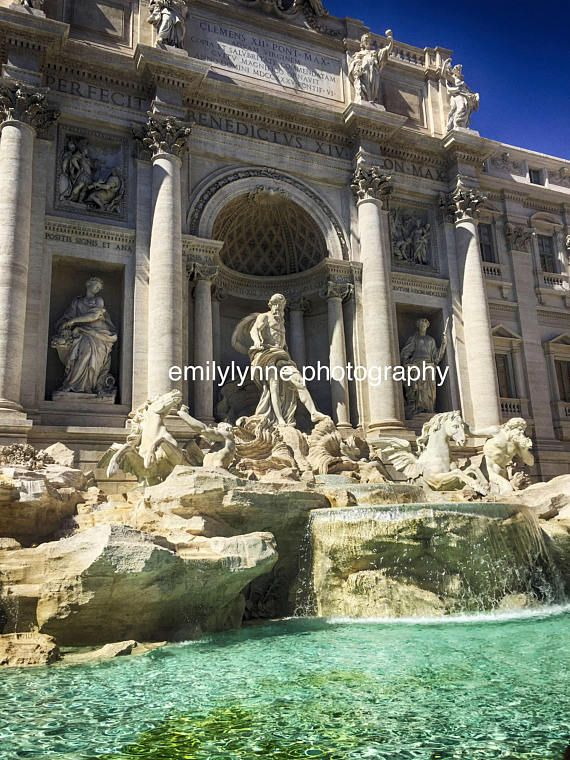 Trevi Fountain Rome Italy Trevi Fountain Trevi Fountain