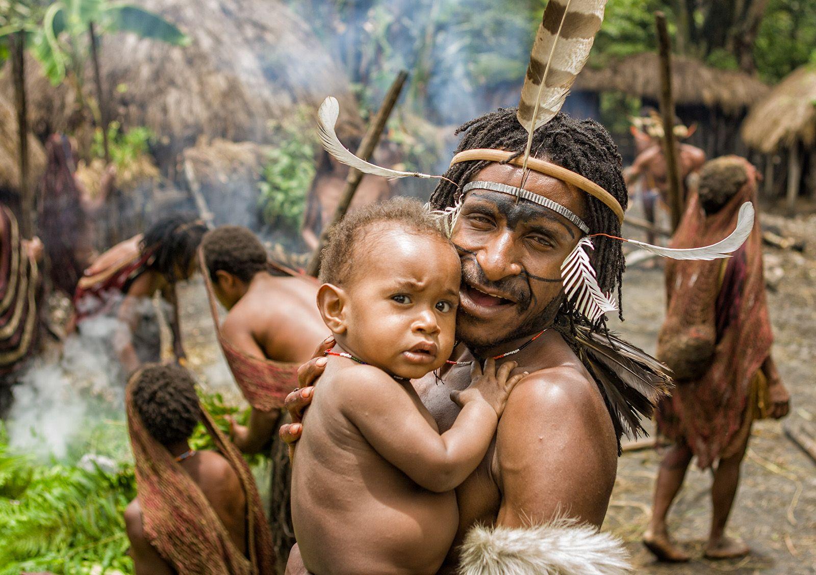 carlo ottaviano casana dani village papua barat indonesia