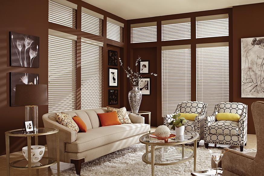 Custom Wood Blinds   Window Treatments   Lafayette Interior Fashions    Heartland Woods Blinds