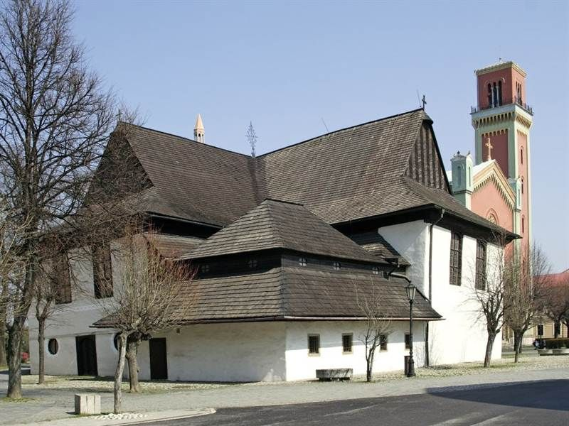 Drevený kostol Kežmarok