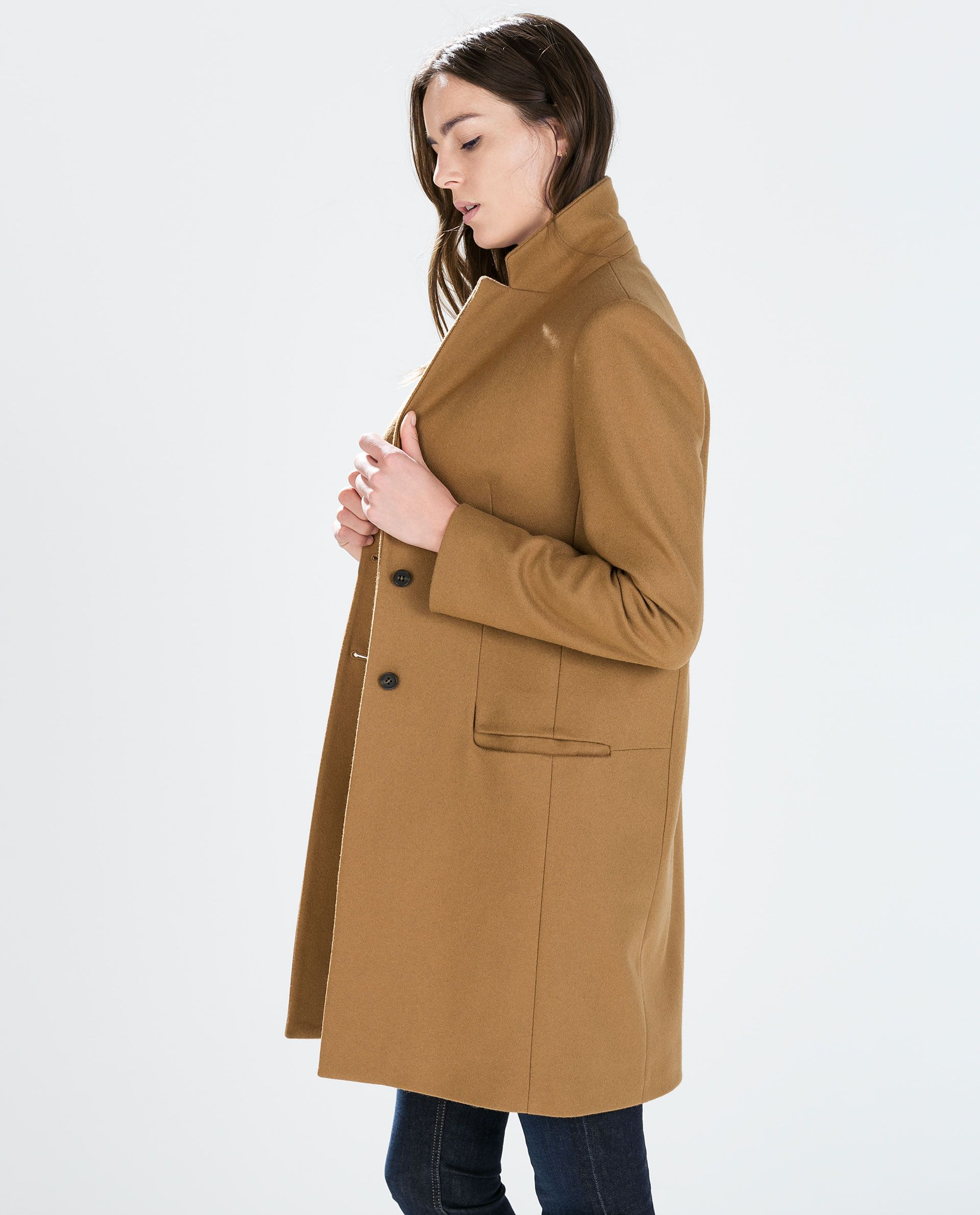 Image 2 of WOOL CAMEL COAT from Zara | I've Got My Eye on You ...