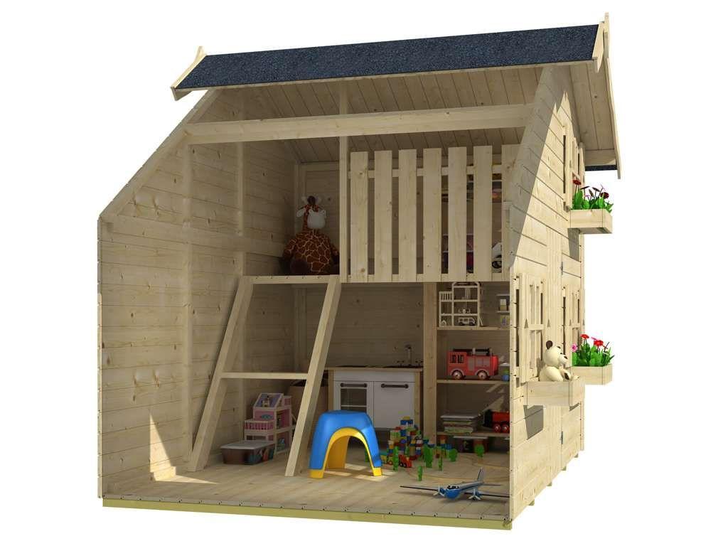 Stelzenhaus Sparset Tom Xl 15 Mm Naturbelassen Inkl Veranda Und Stelzen In 2021 Kinderspielhaus Holz Kinder Spielhaus Garten Kinderspielhaus
