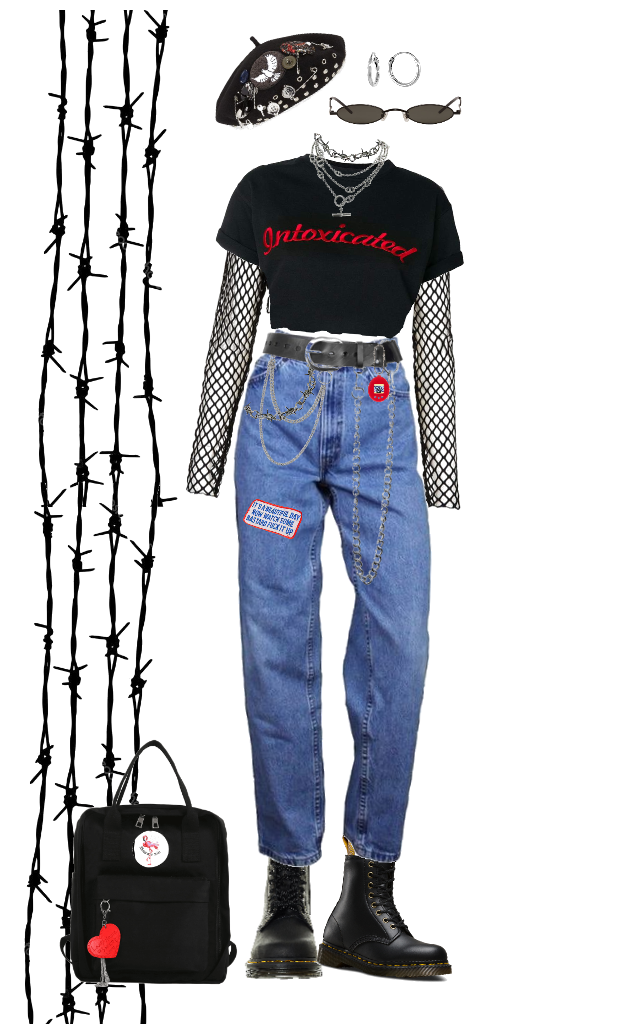 chained & wired Outfit