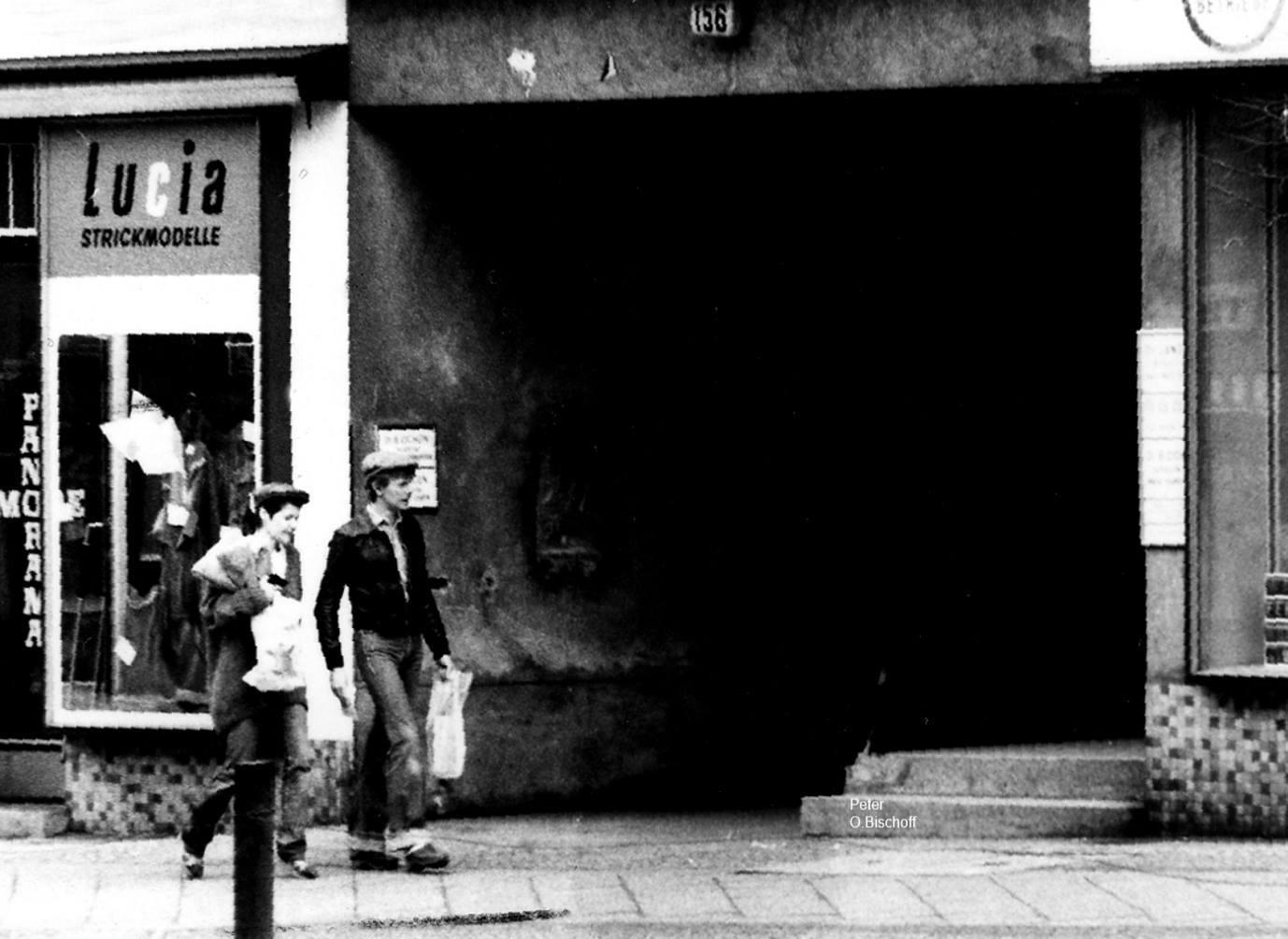 David Bowie et Corinne Schwab, Berlin 1978