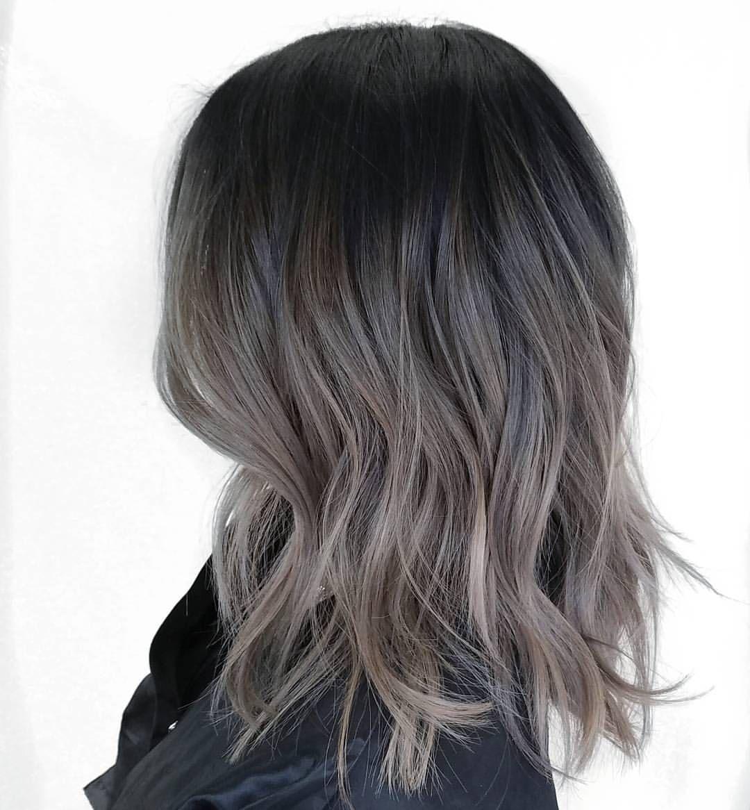 balayage on asian hair ash brown pin by ting keoborakot on highlights in 2019 hair color