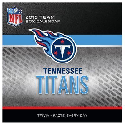 Tennessee Titans 2015 Box Calendar