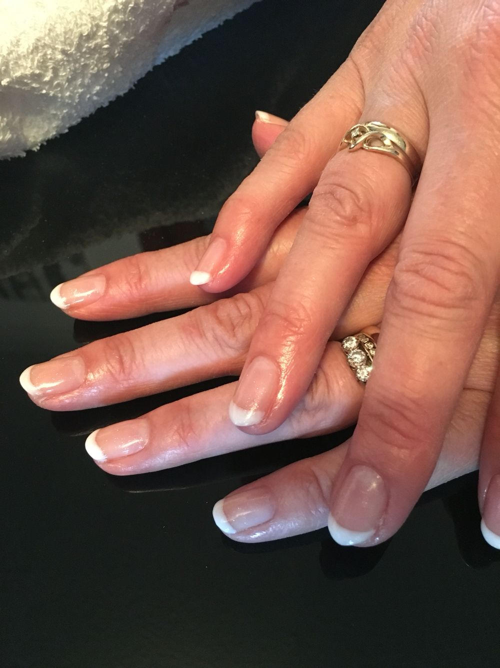 French manicure gel nails | My nail\'s | Pinterest | Manicure