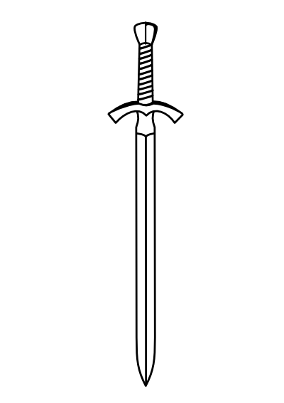 Http Clipartist Info Openclipart Org Svg D4v1d Two Edged Sword 400px Png Sword Tattoo Sword Drawing Art Images