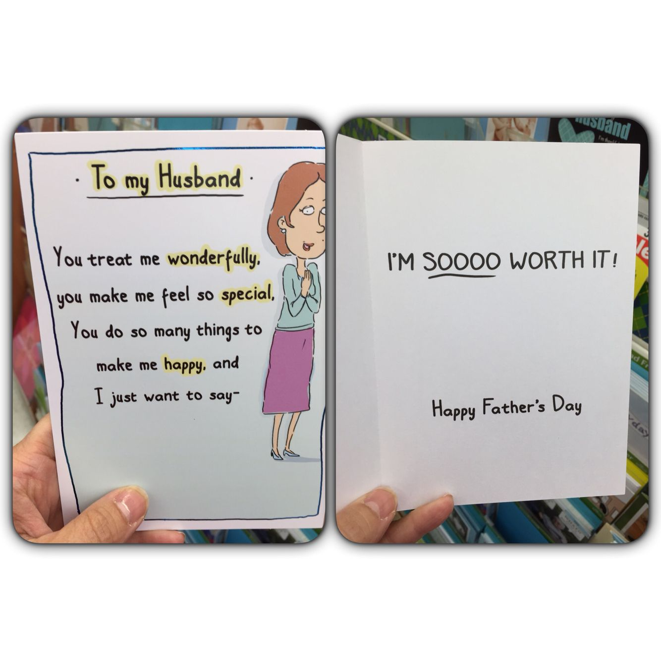 Fathers Day Card From Wife To Husband Winning Thewinning