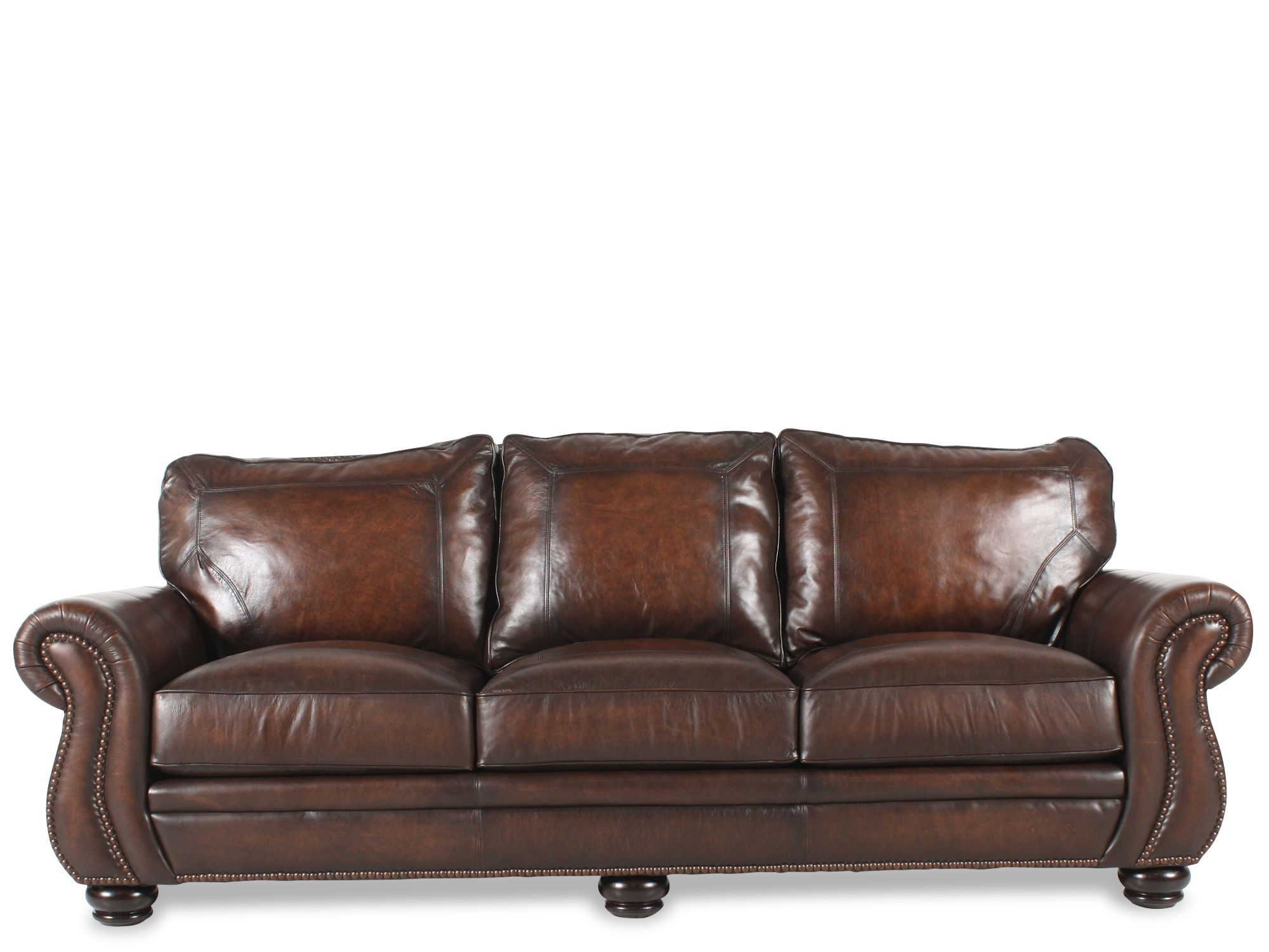 bernhardt breckenridge sofa best ikea leather 1657 i love this one the dark brown would wear well and bun feet reduce scratching on wood floor