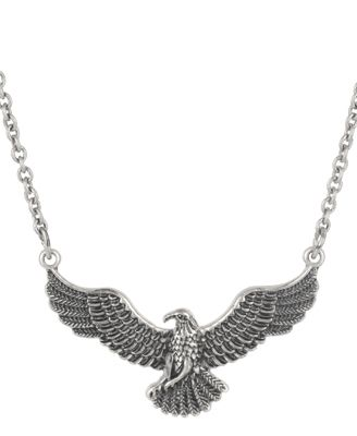 love this necklace - I wear it all the time. It's my T Hawk.