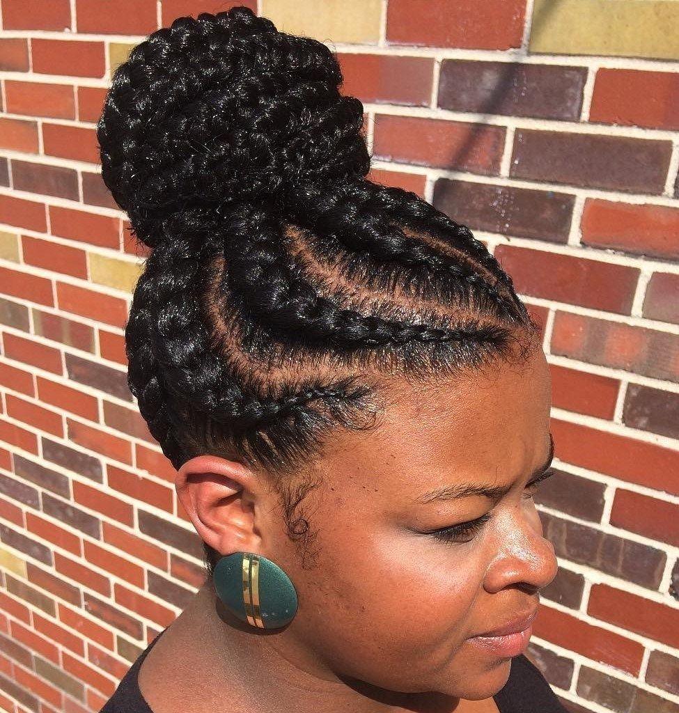 70 Best Black Braided Hairstyles That Turn Heads Braids For Black Hair Braided Hairstyles Braided Bun Hairstyles