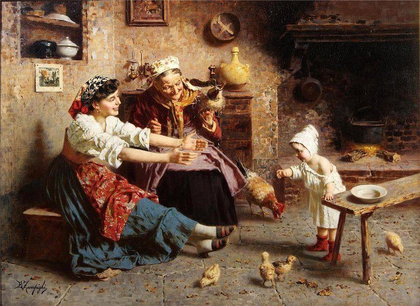 Pinturas de Eugene Zampighi!   Artes & Humor de Mulher artesehumordemulher.wordpress.com831 × 605Buscar por imagen