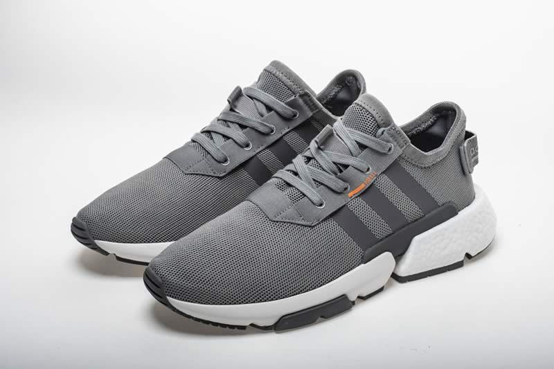 Adidas Pod S31 Boost Grey B37365 Detail Image 4 Sneakers Grey Adidas Shoes Adidas