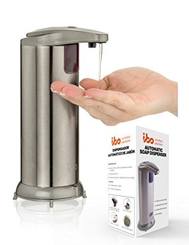 *NEW* PREMIUM Automatic Touchless Soap Dispenser Stainless Steel Home or Office