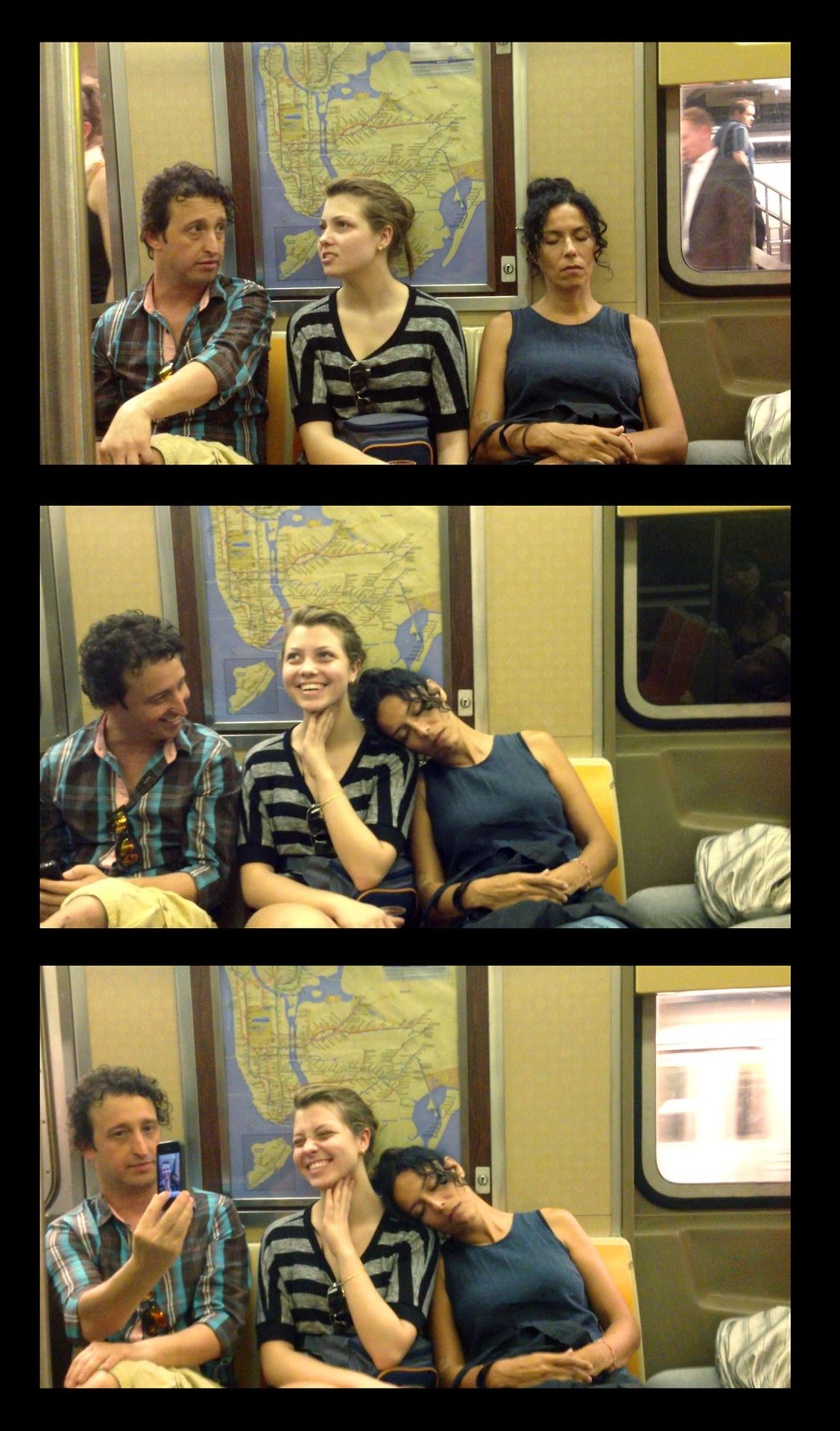 Woman Falls Asleep On Strangers On The Subway Interesting Reactions How To Fall Asleep Nyc Subway Funny Video Clips