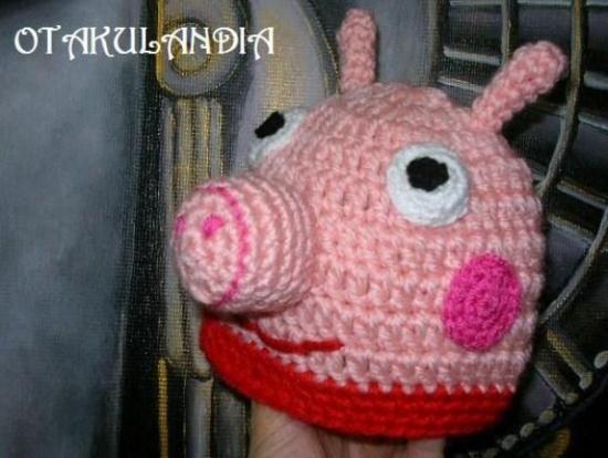 Amigurumi Tutorial Peppa Pig : Tutorial para hacer gorro peppa pig buscar con google hats