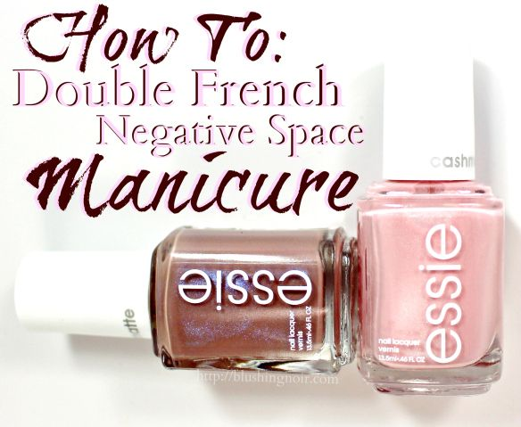 How To: Double French Manicure