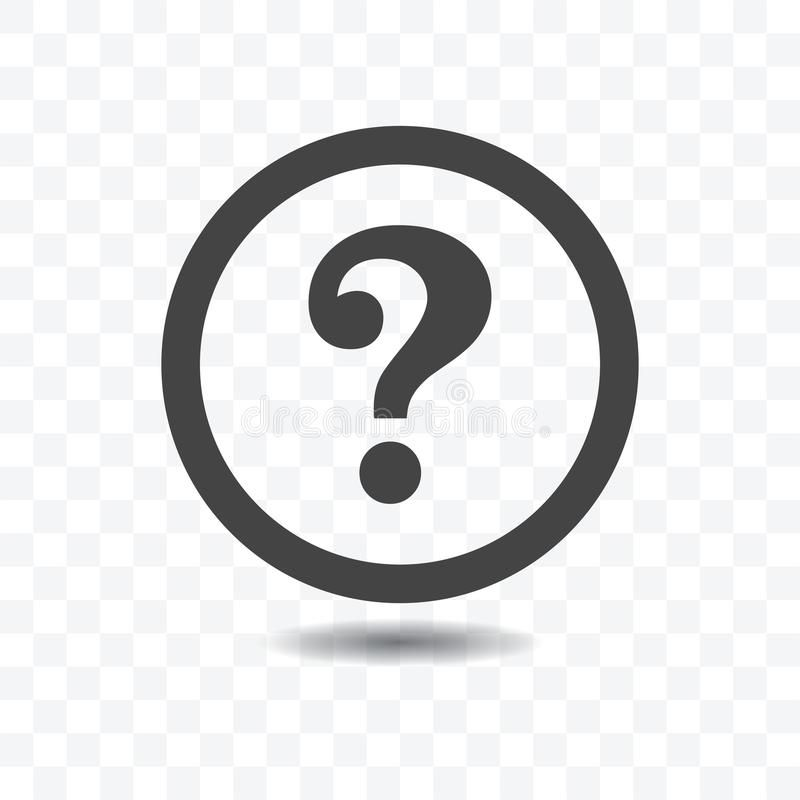 Question Mark Silhouette Icon Question Mark Icon With Shadow On Transparent Bac Sponsored Silhoue Question Mark Icon Question Mark This Or That Questions