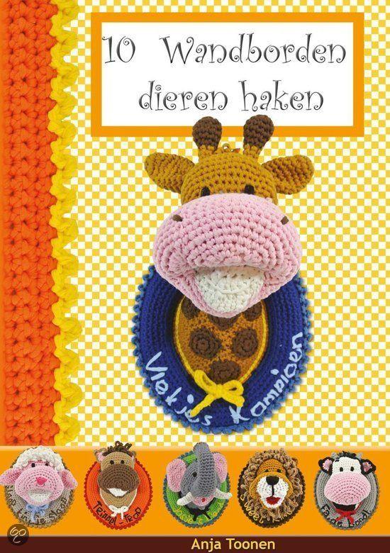 10 Wandborden Dieren Haken Boeken Pinterest Crochet Books