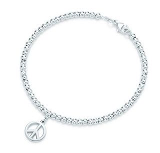 bd622f77774c3 Tiffany & Co Peace Sign Bead Bracelet | Awesome. | Stuff to buy ...