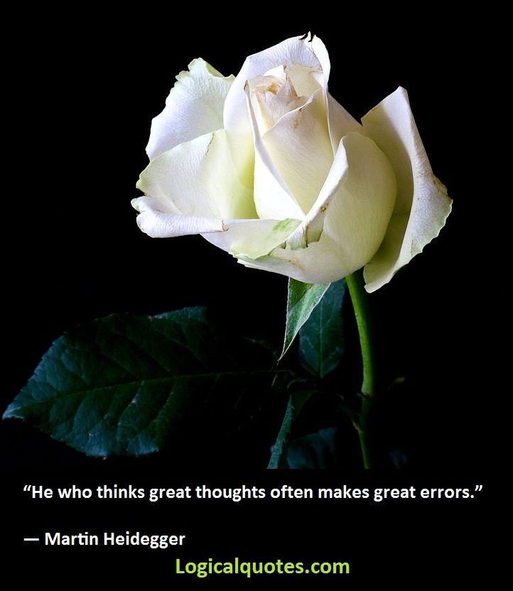 Inspirational Martin Heidegger Quotes