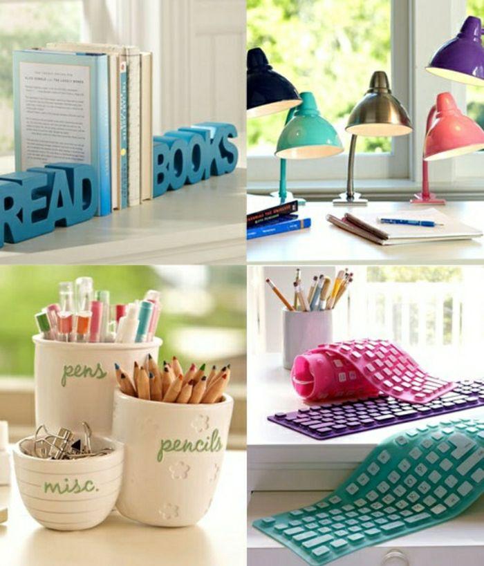 Comment décorer sa chambre? Idées magnifiques en photos! Office