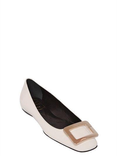 ROGER VIVIER. Leather FlatsPatent LeatherRoger VivierWomens FlatsDesigner  ClothingLuxury DesignerShoes ...