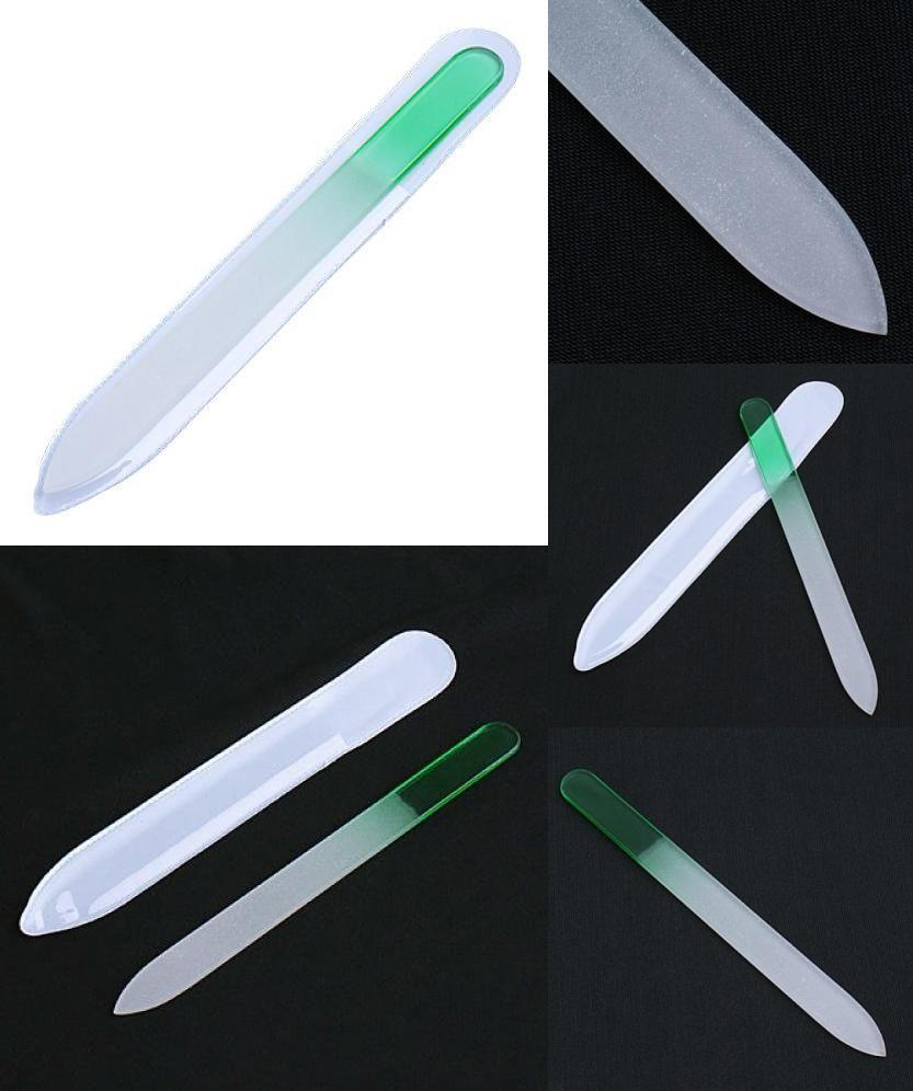 Visit to Buy] 5.5 Inch Aqua Crystal Glass Nail File for Natural and ...