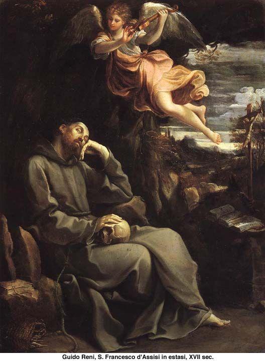 Guido Reni - San Francesco d'Assisi in estasi - olio su tela ...