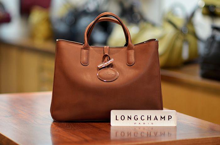 sac longchamp heritage marron