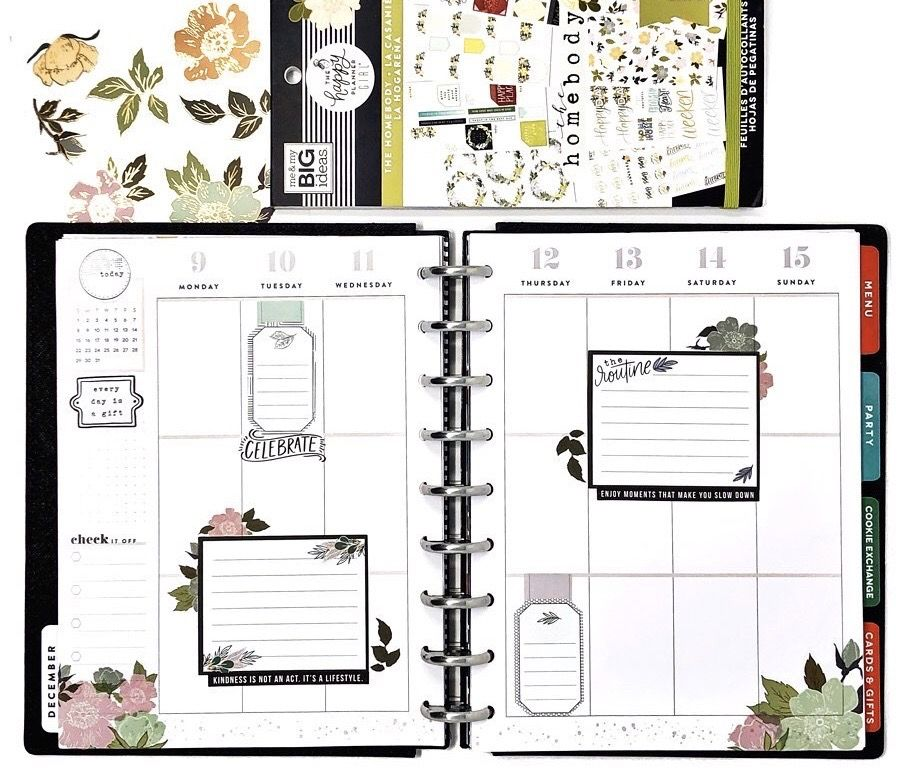 Layout Inspo In 2020 Happy Planner Layout Mambi Happy Planner Happy Planner