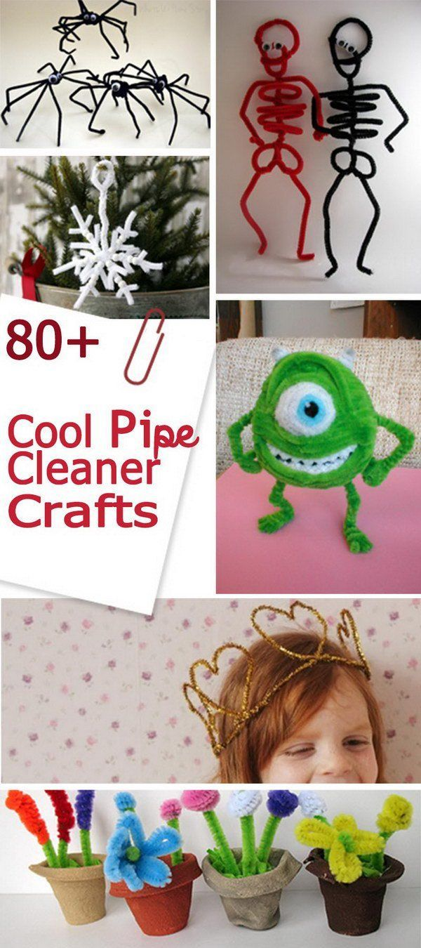 80 Cool Pipe Cleaner Crafts Kids Art Craft Pinterest Pipe