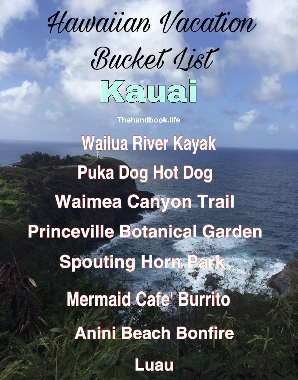 The key to a relaxing and fulfilling vacation is knowing what you want to get out of it and planning accordingly - even if that means not having a plan! #travelhawaii #tripplanning #organizedtraveler #hawaiianvacation #vacationbucketlists #kauai #travelkauai #familyvacation #tripplanner #hawaiibound