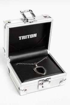 TRITON Triton 'Rope' Dog Tag Necklace