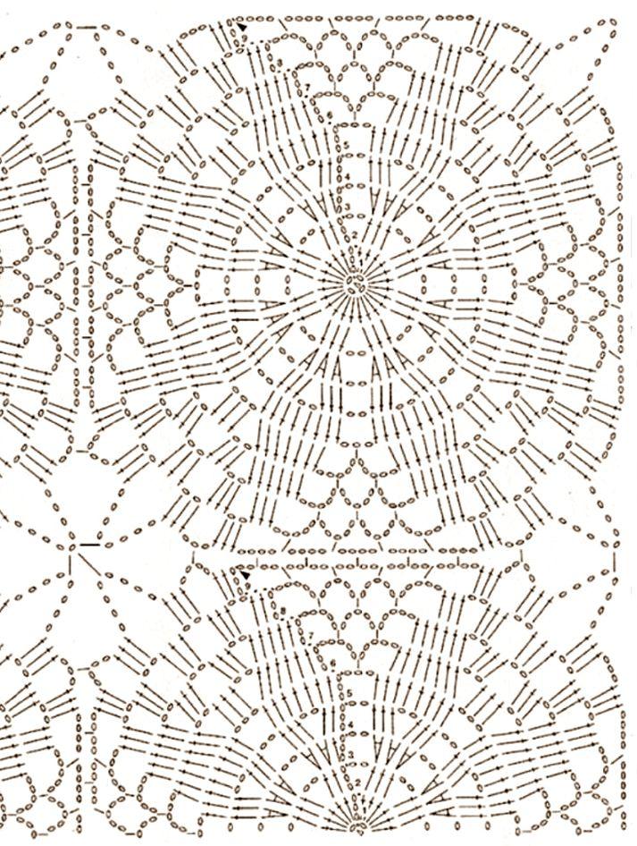 Piastrella Quadrata A Uncinetto Con Petali I Tutorial Di Camilla