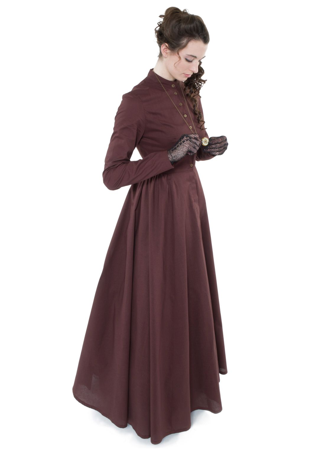 pioneer woman clothing 1800. peek into the past with this dress from recollections. #lauren pioneer woman clothing 1800 n
