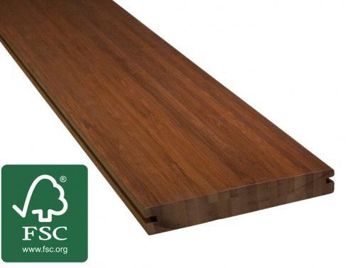 Terrassendielen Bambus bambus terrassendielen, 18,5x120 mm *fsc 100%*, | terrasse und