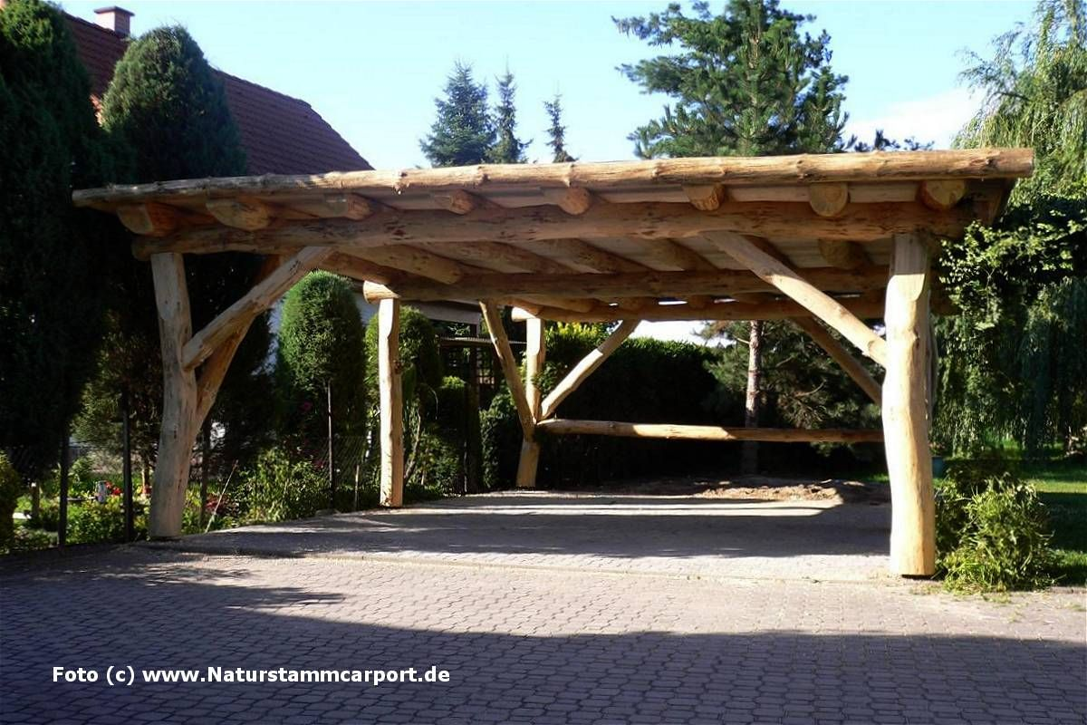 car port planung und montage ihr carport fachmann f r naturstamm carports car ports. Black Bedroom Furniture Sets. Home Design Ideas