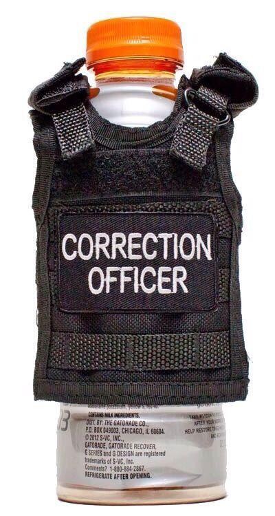 "Tactical Beer Koozie ""CORRECTION OFFICER"""