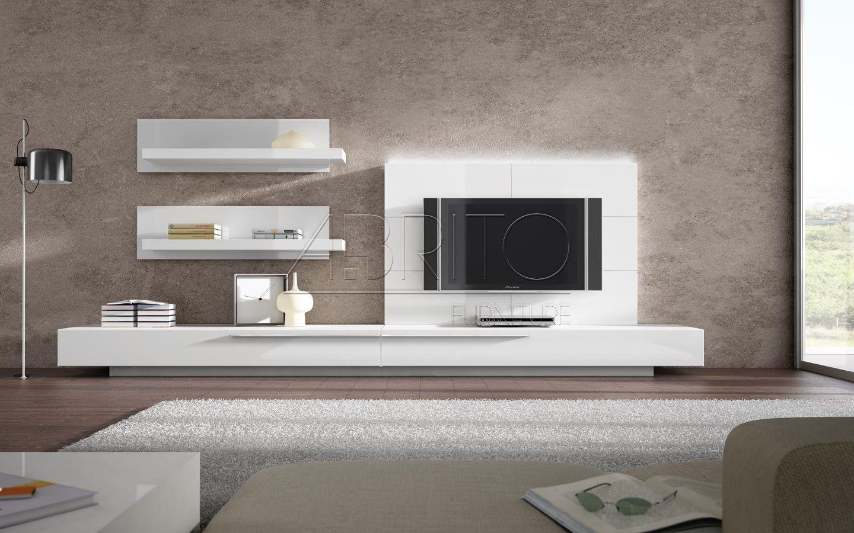 Mueble TV moderno lacado GINZA 05S A Brito Cosas que comprar