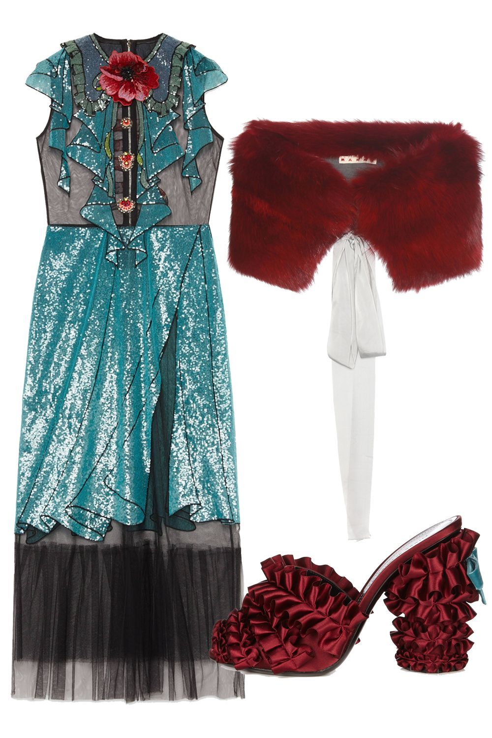 Attractive Outfits For Winter Weddings Image Collection - All ...