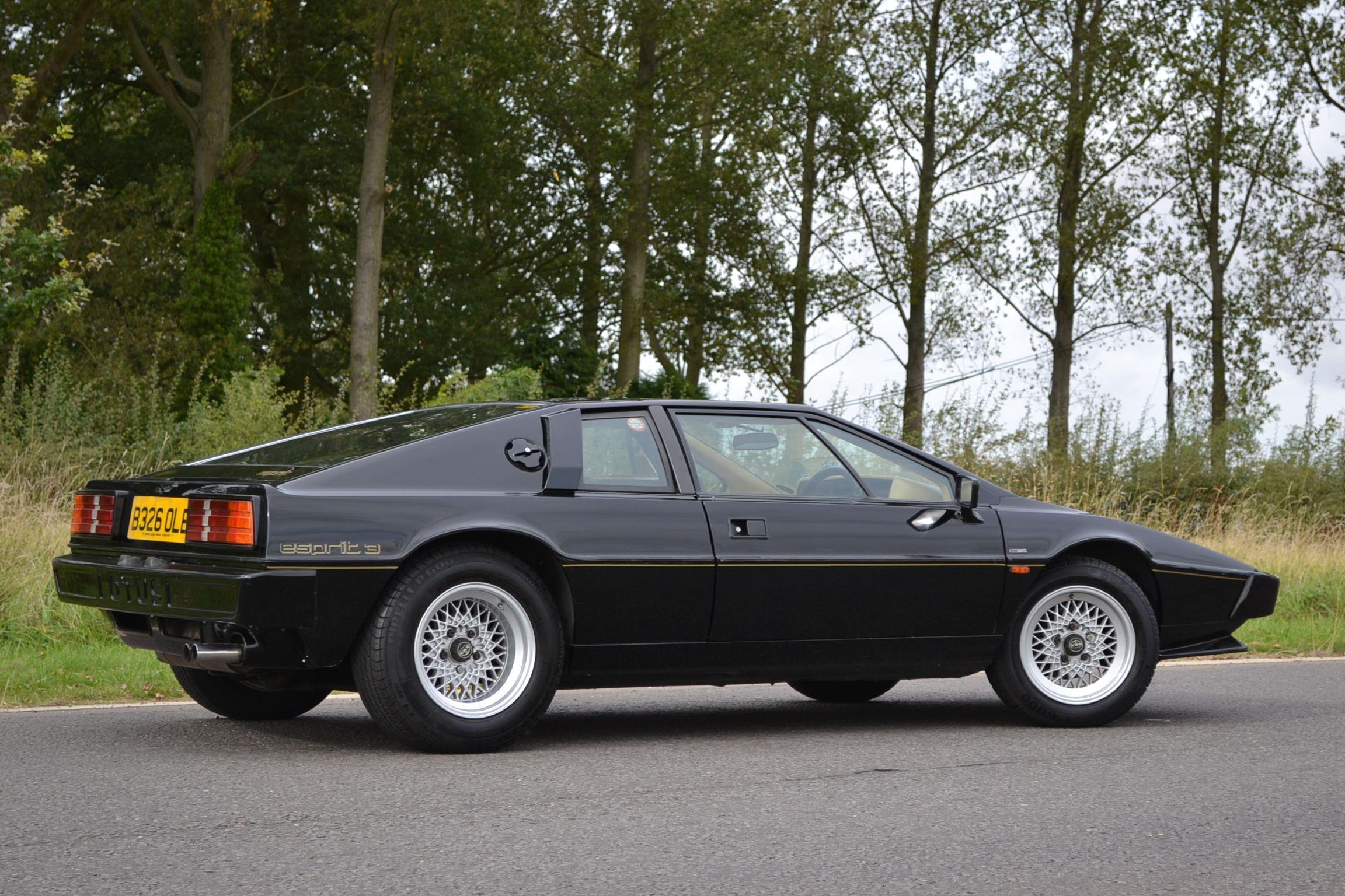 black lotus esprit | LOTUS ESPRIT Series 3 for Sale | Cars I ...